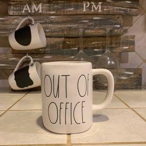 Rae Dunn OUT OF OFFICE MUG